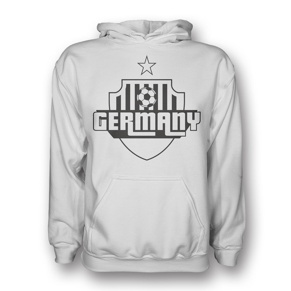 Germany Country Logo Hoody (white) - Kids