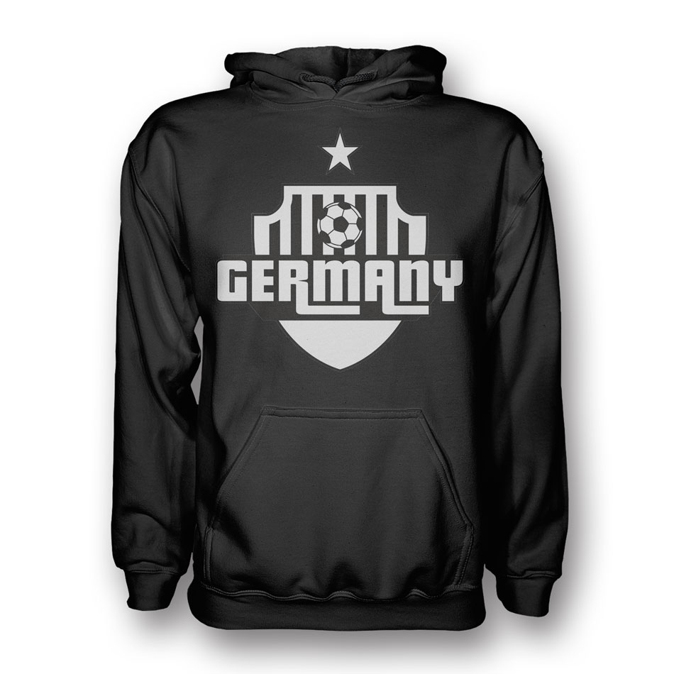 Germany Country Logo Hoody (black) - Kids