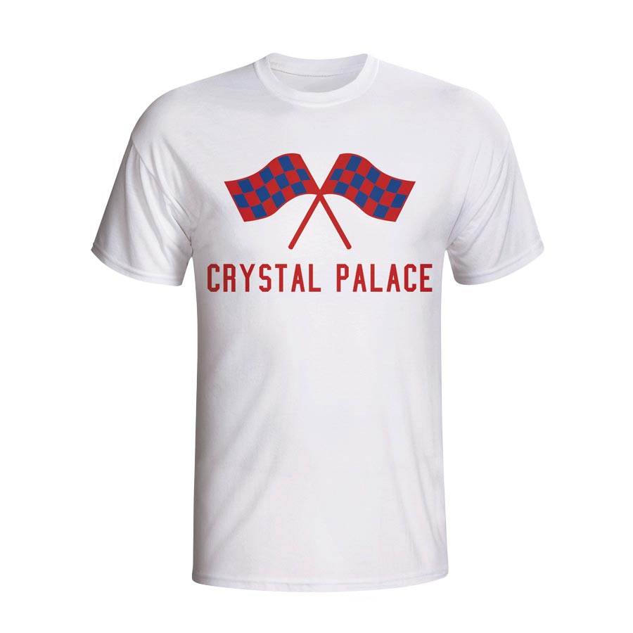 Crystal Palace Waving Flags T-shirt (white)