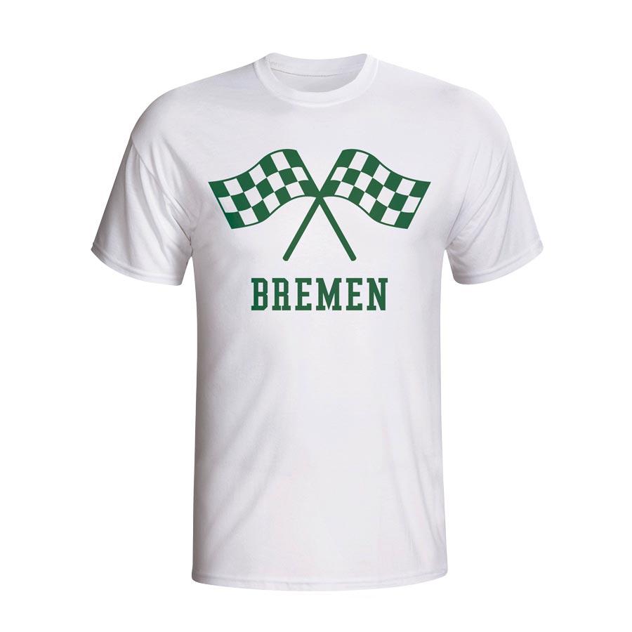Werder Bremen Waving Flags T-shirt (white) - Kids