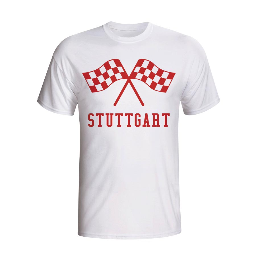 Stuttgart Waving Flags T-shirt (white)