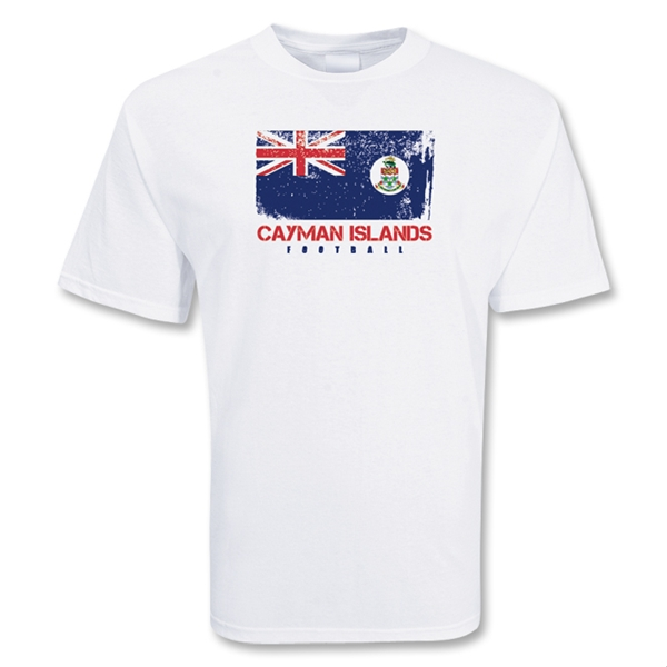 Cayman Islands Football T-shirt (white)