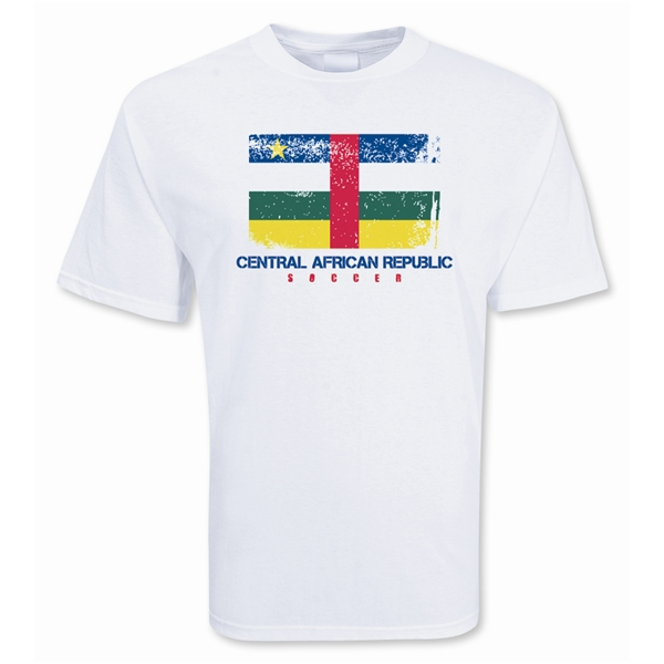 Central African Republic Soccer T-shirt