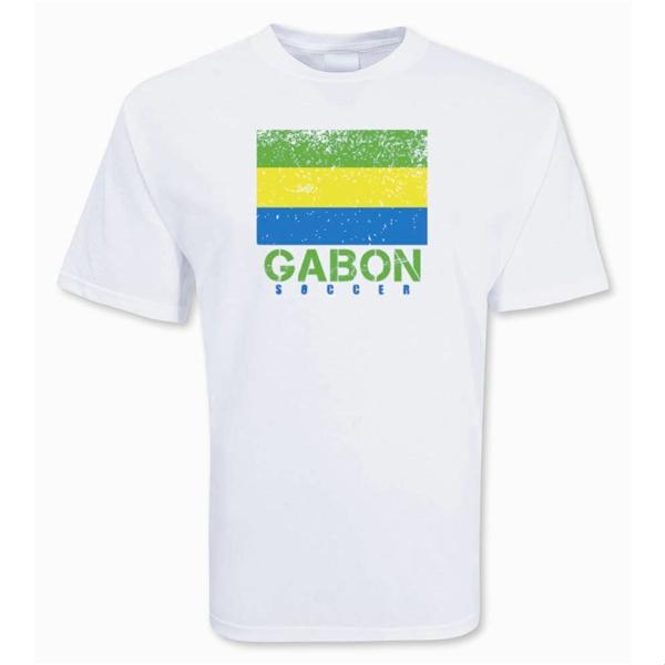 Gabon Soccer T-shirt