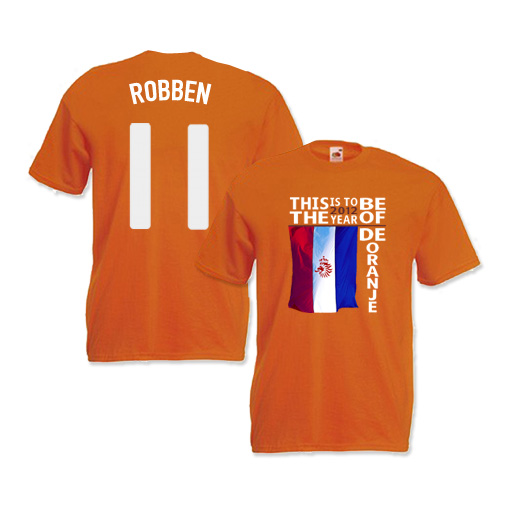 Holland Euro 2012 Our Year T-Shirt (Robben 11)