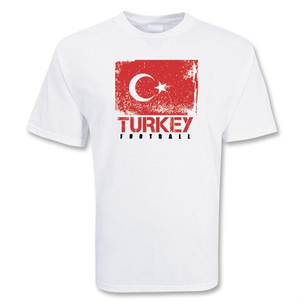 Turkey football t shirt tshirtwhitekids tshirtwhite for Shirts made in turkey