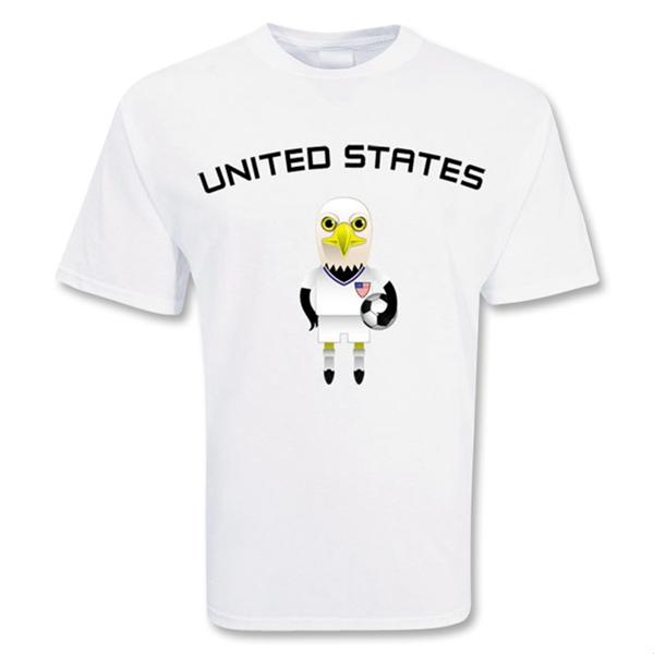 Usa Mascot Soccer T-shirt