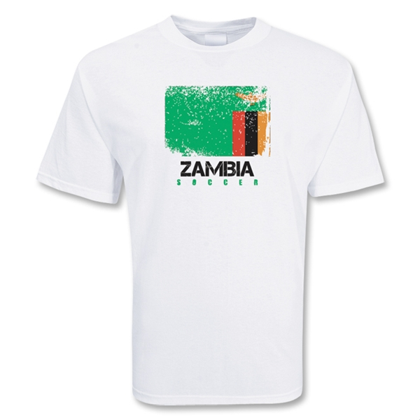 Image of Zambia Soccer T-shirt - S
