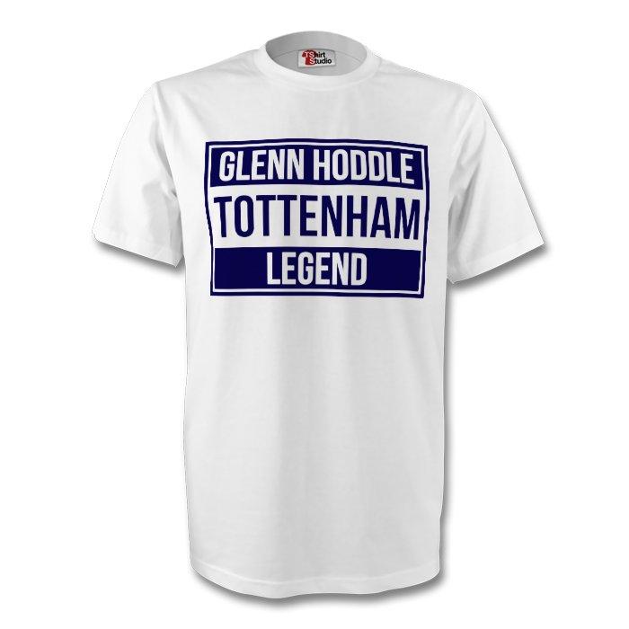 Glenn Hoddle Tottenham Legend Tee (white) - Kids