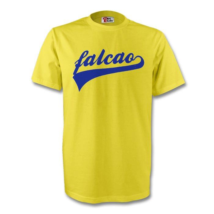 Radamel Falcao Colombia Signature Tee (yellow) - Kids