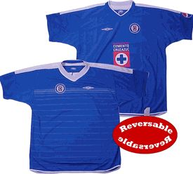 Cruz Azul home 04/05