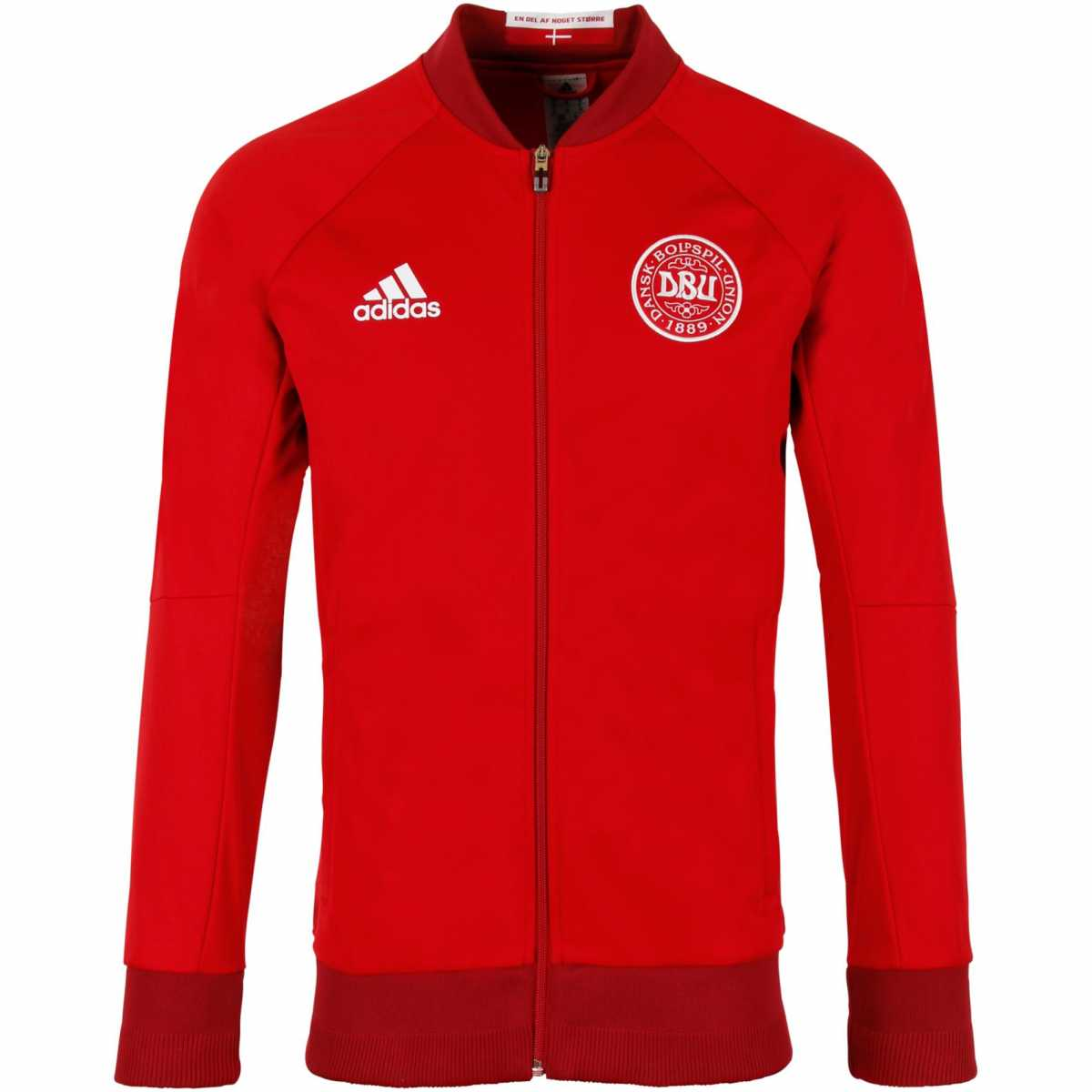 20162017 Denmark Adidas Anthem Jacket (Red)