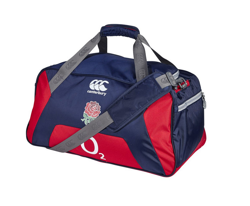 Image of 2015-2016 England Rugby Medium Sports Bag (Navy)