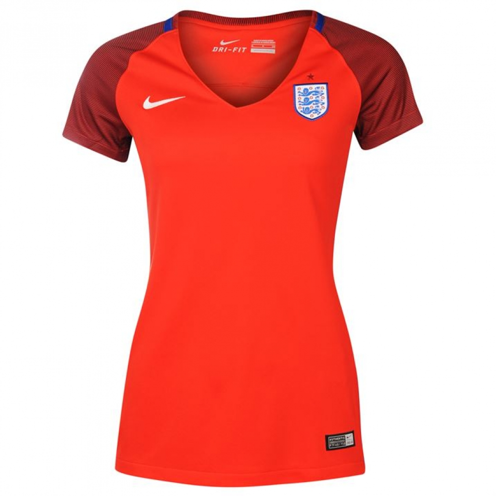 2016-2017 England Away Nike Womens Shirt