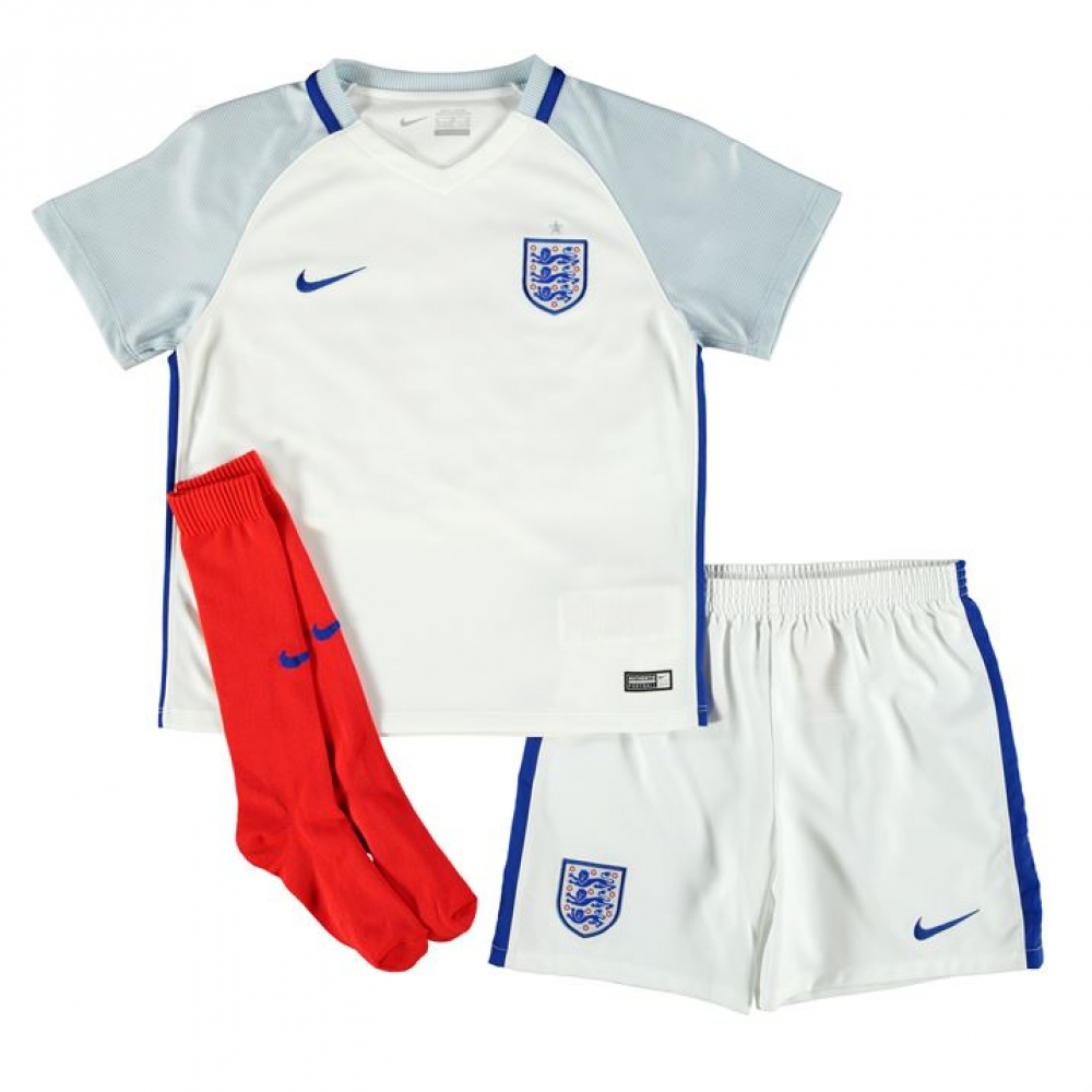 2016-2017 England Home Nike Baby Kit