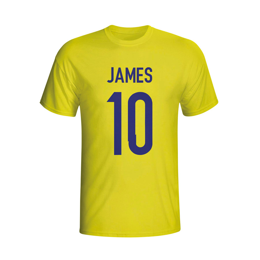 James Rodriguez Colombia Hero T-shirt (yellow) - Kids