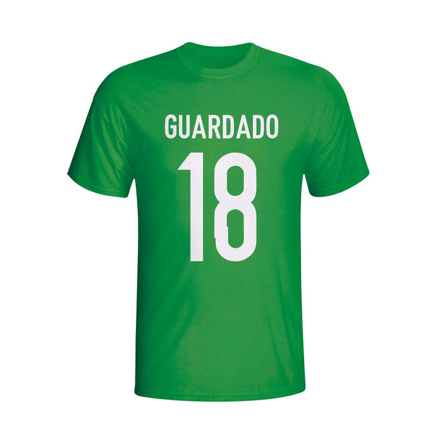 Andres Guardado Mexico Hero T-shirt (green)