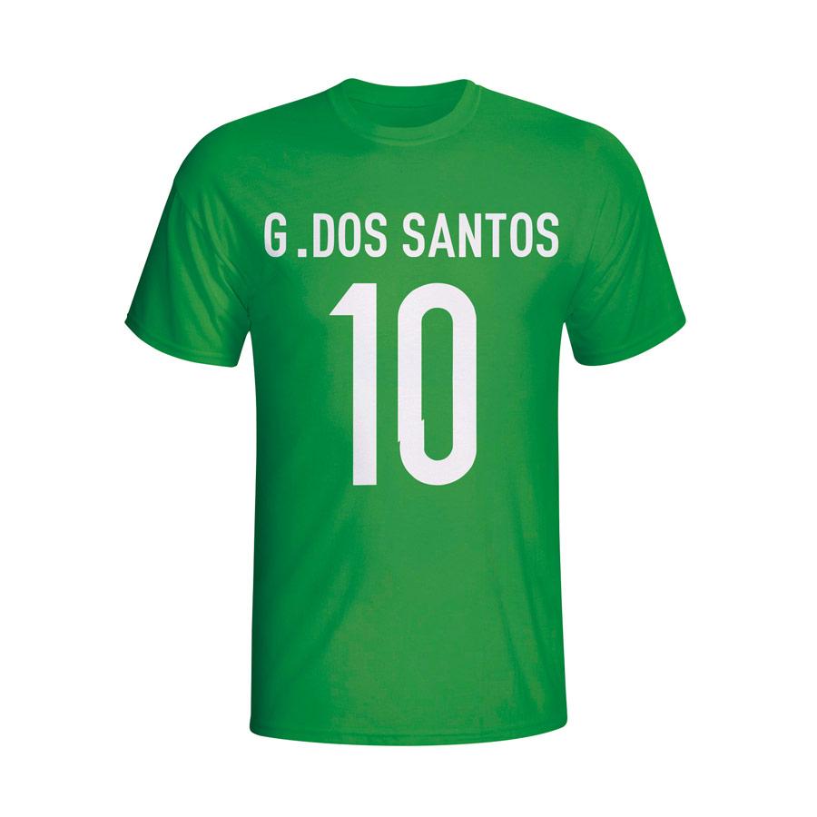 Giovanni Dos Santos Mexico Hero T-shirt (green) - Kids