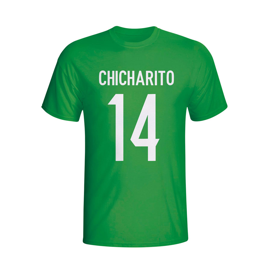 Chicharito Mexico Hero T-shirt (green) - Kids