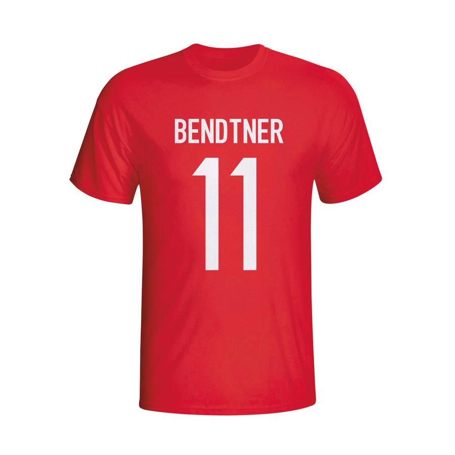 Nicolas Bendtner Denmark Hero T-shirt (red)