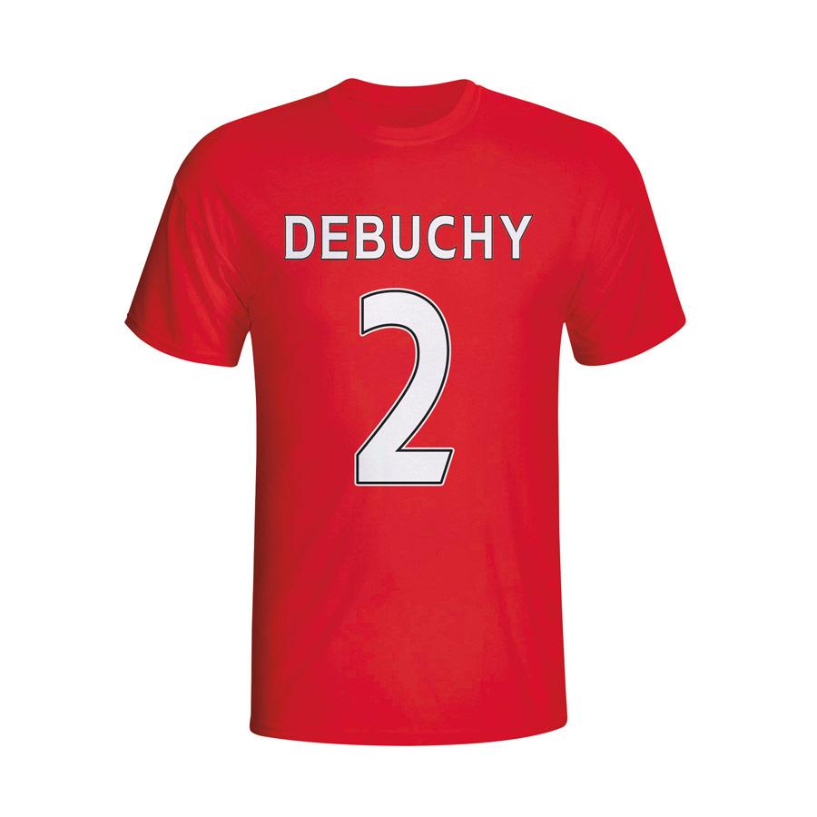 Mathieu Debuchy Arsenal Hero Tshirt (red)  Kids