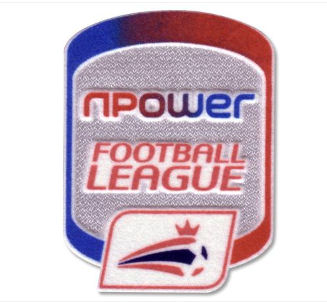Official nPower Football League Sleeve Patch 11-12