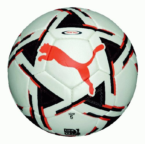 Puma King (fifa Approved) Match Ball (white-orange)