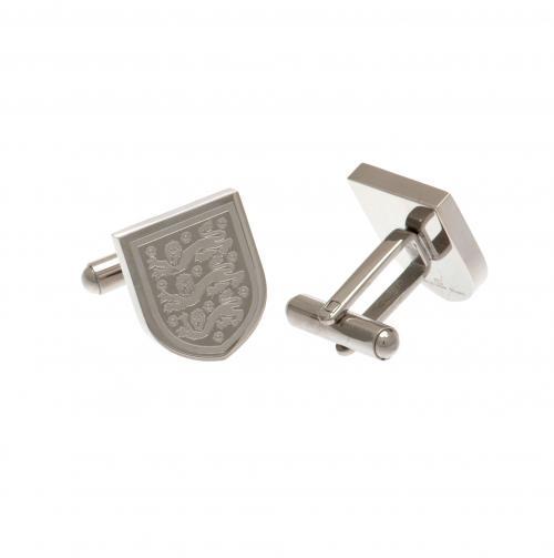 England F.A. Stainless Steel Cufflinks CR