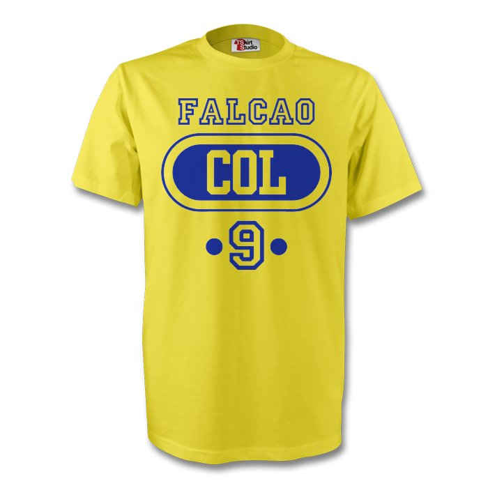 James Rodriguez Colombia Col T-shirt (yellow)