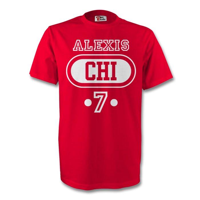 Alexis Sanchez Chile Chi T-shirt (red) - Kids