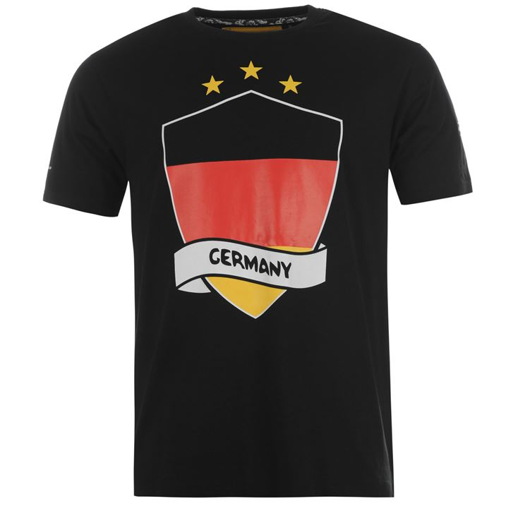 Germany 2014 FIFA Flag Tee (Black)