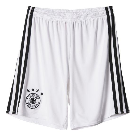 20162017 Germany Home Adidas Goalkeeper Shorts (White)  Kids