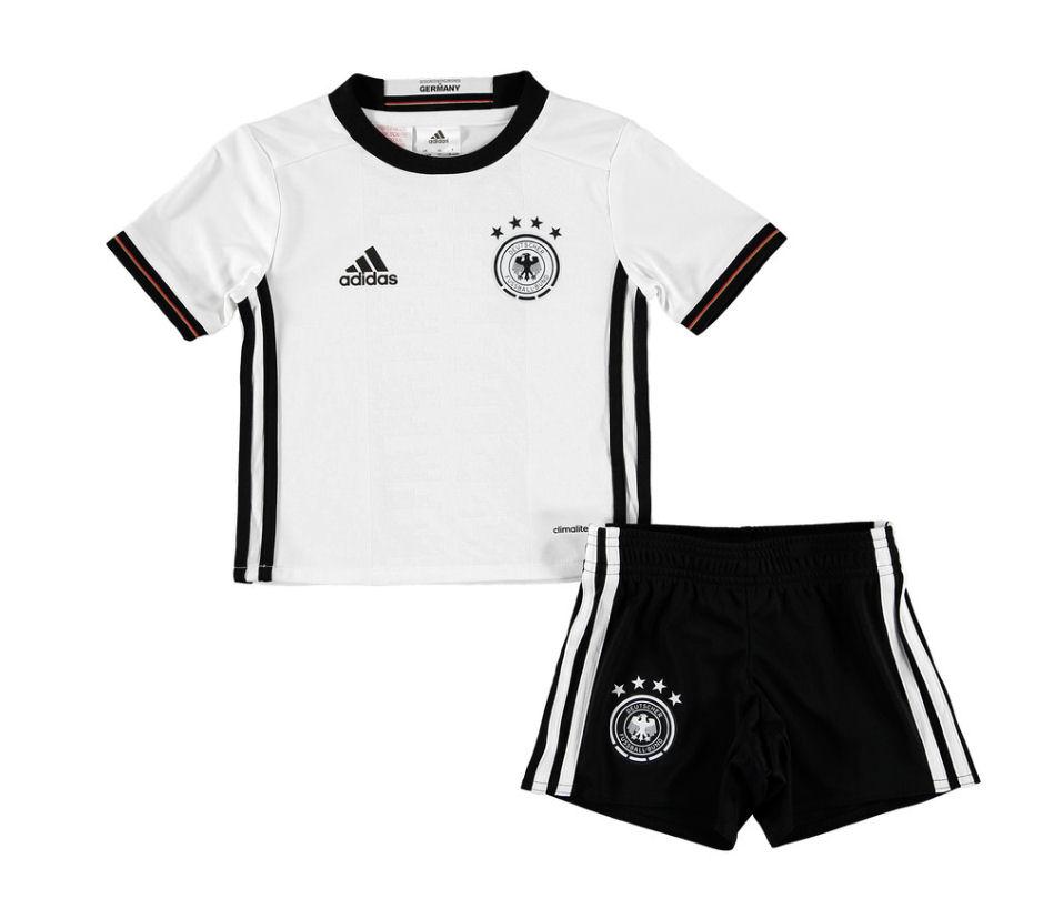 2016-2017 Germany Home Adidas Mini Kit