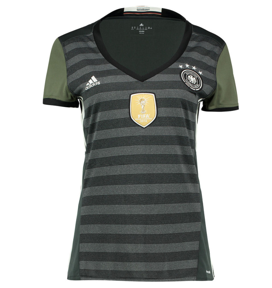 20162017 Germany Away Adidas Womens Shirt