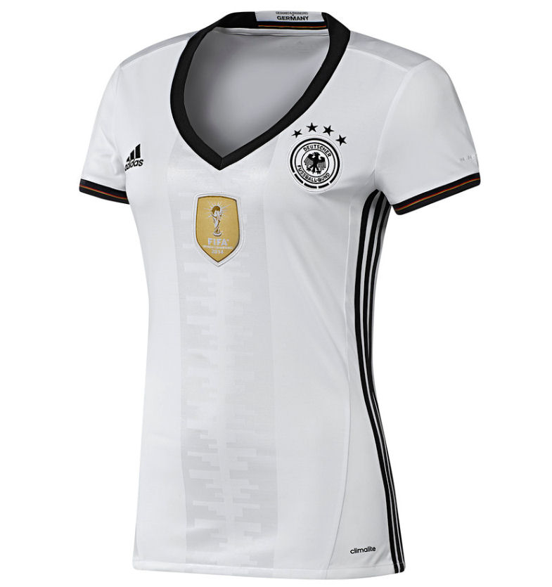 20162017 Germany Home Adidas Womens Shirt