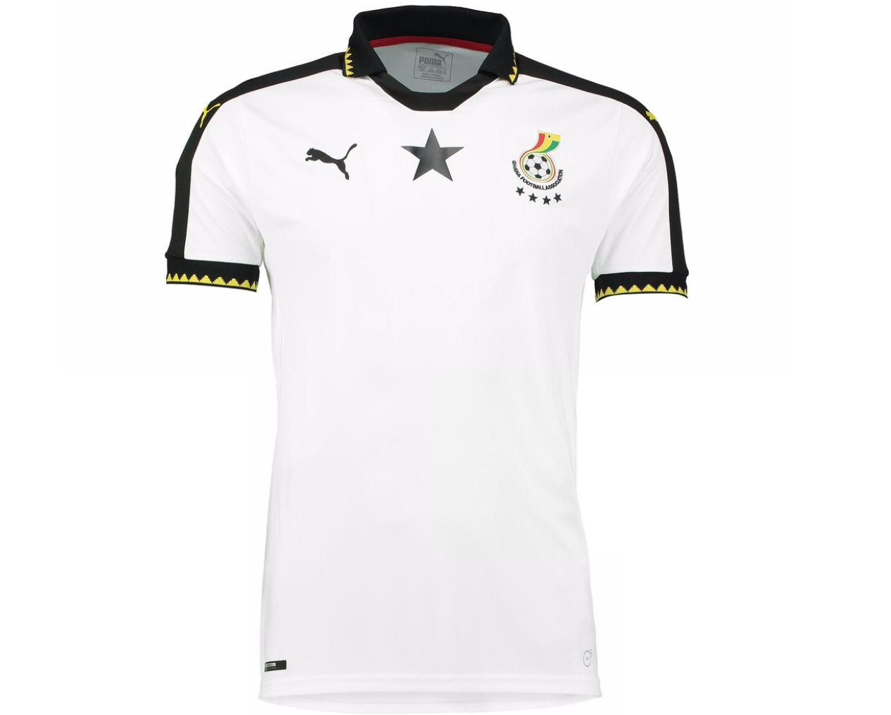 20162017 Ghana Home Puma Football Shirt