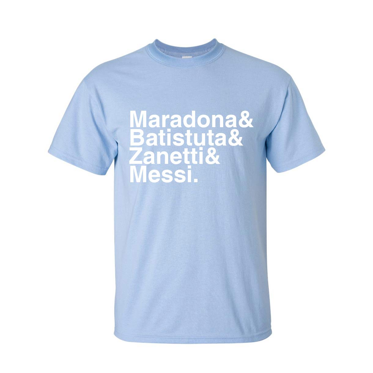 Argentina Football Legends Tshirt (sky Blue)