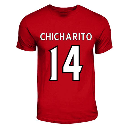 Chicharito Manchester United Hero T-shirt (red)