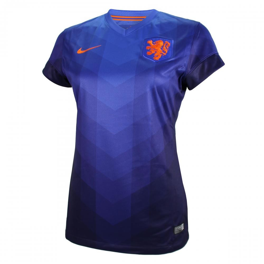 2014-15 Holland Away World Cup Womens Shirt