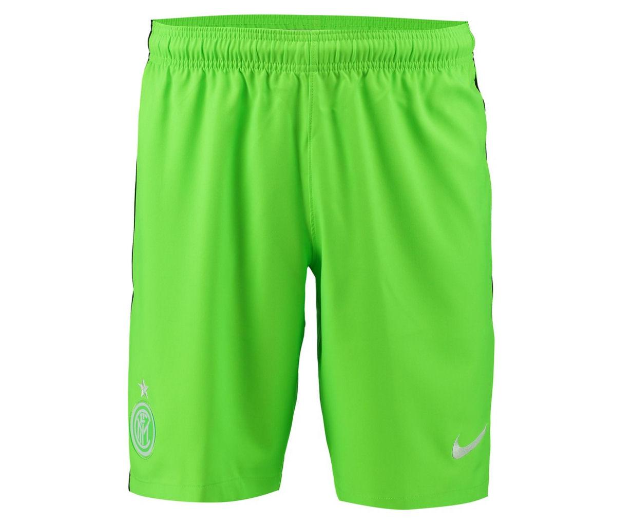 2016-2017 Inter Milan Nike Third Shorts (Green)