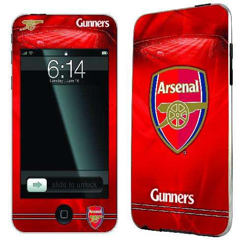 Official Arsenal iPod Touch 2 and 3 Skin