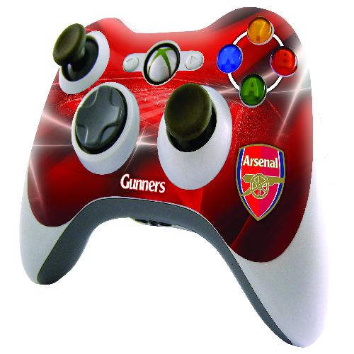 Official Arsenal XBOX 360 Controller Skin
