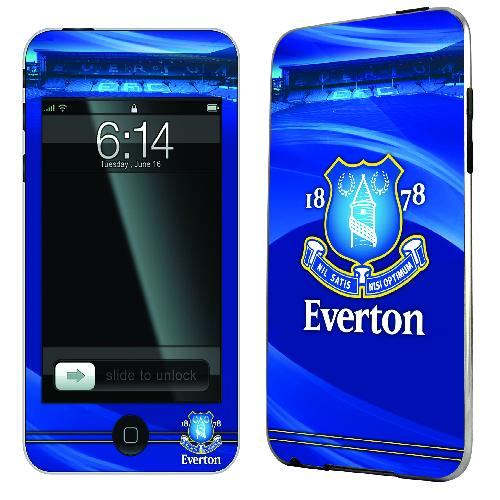 Official Everton iPod Touch 2 and 3 Skin