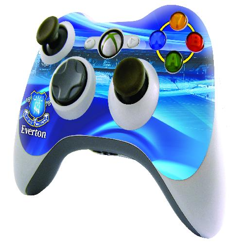 Official Everton XBOX 360 Controller Skin
