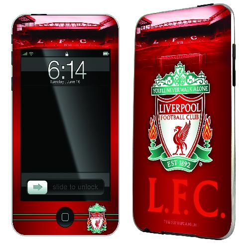 Official Liverpool iPod Touch 4th Gen Skin
