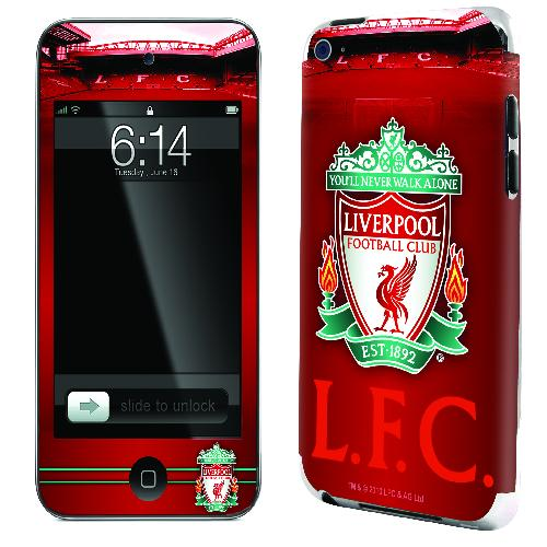 Official Liverpool iPod Touch 2 and 3 Skin