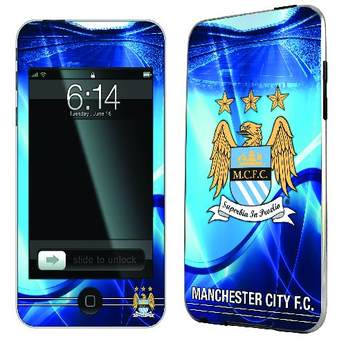 Official Man City iPod Touch 2 and 3 Skin