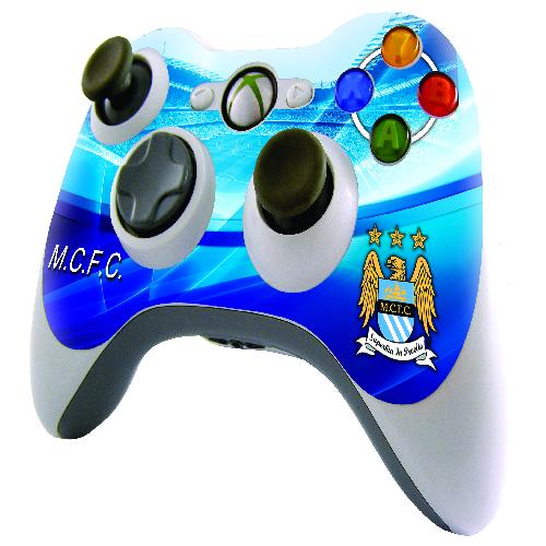 Official Man City XBOX 360 Controller Skin