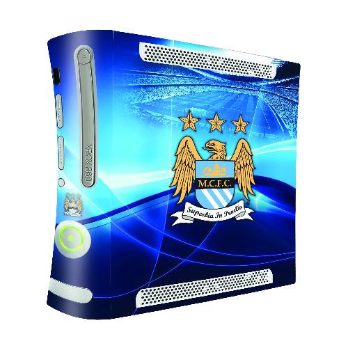 Official Man City XBOX 360 Skin