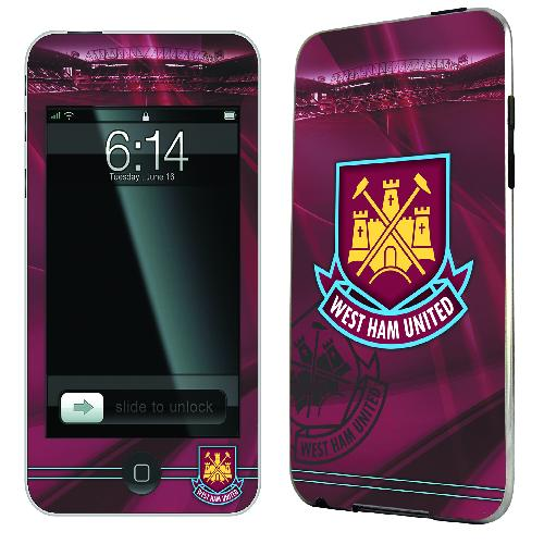 Official West Ham iPod Touch 4th Gen Skin